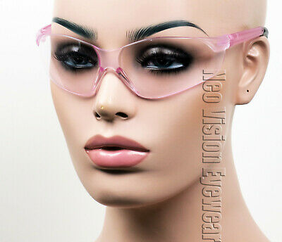 ERB Grace Pink Lens Safety Glasses Motorcycle Womens Z87+