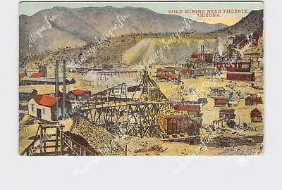Ppc Postcard Arizona Gold Mining Near Phoenix