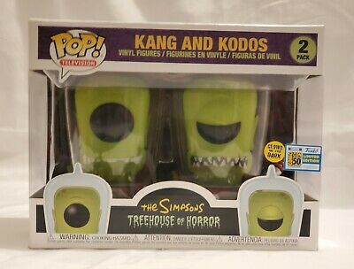 SDCC 2019 Funko The Simpsons Kang and Kodos 2 Pack Pop.
