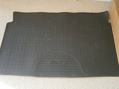 Peugeot 207 Black Rubber Boot Protector