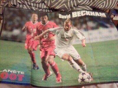 Clippings poster David Beckham, Ahmed
