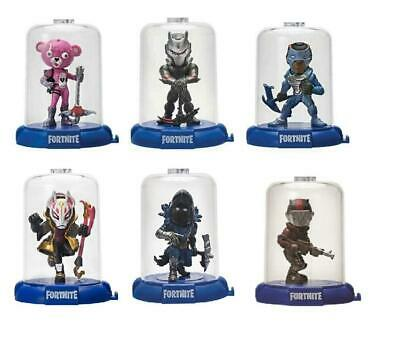 6 Packs Fortnite Domez Figure Enclosed Display Case Collection 3'' Series 1