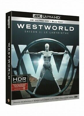 Westworld the Maze Season 1 Integral Blu-Ray 4K New Blister Pack