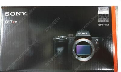 2019 Sony Alpha A7R IV MARK4 Mirrorless Digital Camera Body Only
