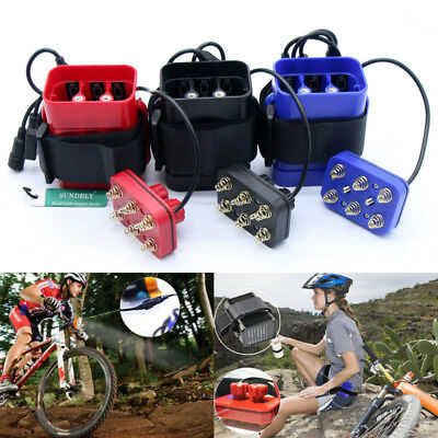 Outdoor Waterproof Cover USB 8.4V 4x18650 Batteries Pack Case Bike Bicycle Light