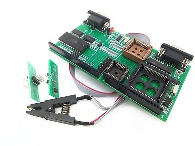 Programmer Tool Eeprom Board Adapter Tms and Nec UPA USB V1.3 w/ Soic8 Test Clip