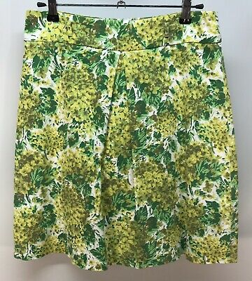Review Green Floral Skirt - Size 8