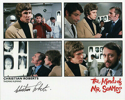 THE MIND OF MR SOAMES - Christian Roberts Signed Photograph - AMICUS