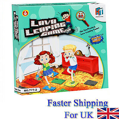 The Floor is Lava! Interactive Board Game for Kids and Adults (Ages 5+) Fun UK