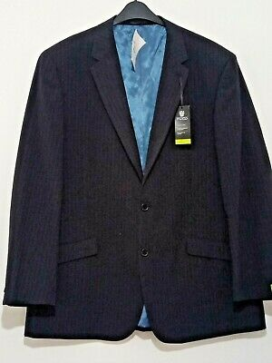 New Mens SKOPES blue pinstripe suit jacket size 48R rrp £150 ref J55A