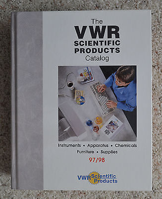 Huge. VWR 97/98 Scientific Products Catalog of Scientidic Products
