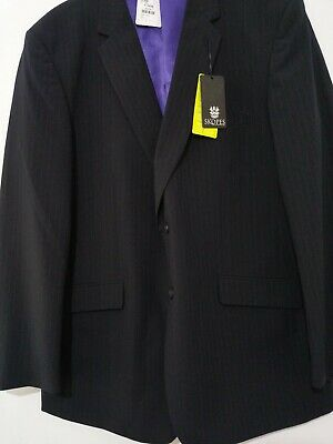 New Mens SKOPES OSLO pinstripe wool mix suit jacket size 46R rrp £150 ref J55A