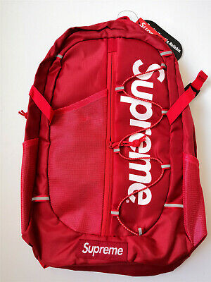 NEW 2019 Supreme 17ss Backpack Waterproof Box Logo Mountaineering Bags Travel