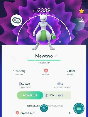 Pokemon Go Trade Yourself account Shiny Mewtwo