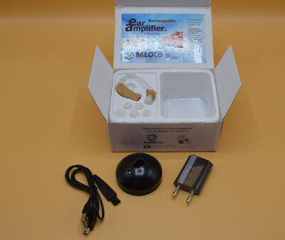 Medca Rechargeable Ear Hearing Amplifier