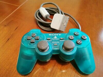 Playstation 2 Official Rare Dark Green Clear Dualshock 2 Controller-Mint