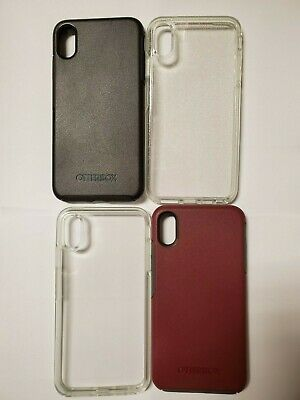"Authentic OtterBox Symmetry Series Case for Apple iPhone Xs Max 6.5"" many colors"