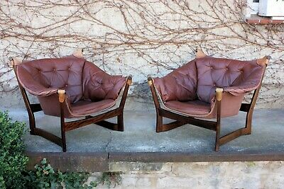 Set of 2 Toga  Loungechairs Tormod Alnaes/Sorliemobler Norway