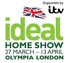 2x IDEAL HOME SHOW TICKETS LONDON MONDAY 13TH APRIL 2020
