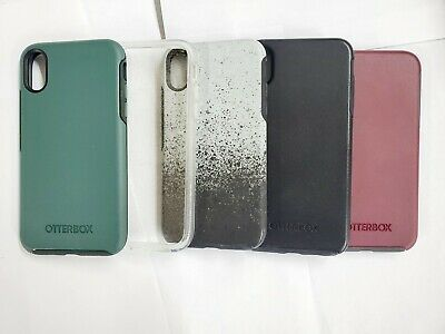 Authentic OtterBox Symmetry Series Case Cover For Apple iPhone XR 6.1 many color
