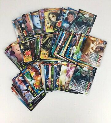 BBC Doctor Who Sci Fi Battles In Time Annihilator 100 Common Trading Card Bundle