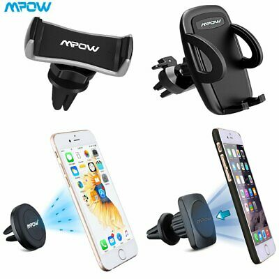 Mpow Universal Magnetic Car Phone Holder Air Vent Mount 360° For Mobile Phone