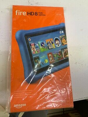 Amazon Fire HD 8 Kids Edition (8th Generation) 32 GB, Wi-Fi, 8 in - Blue
