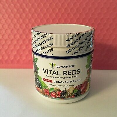 Gundry MD Vital Reds Concentrated Polyphenol Blend Dietary Supplement 4 Oz