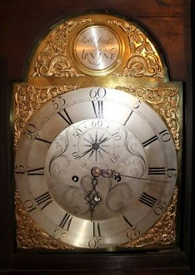 George 111- 8 Day Brass Arch Dial Longcase//Grandfather  Clock