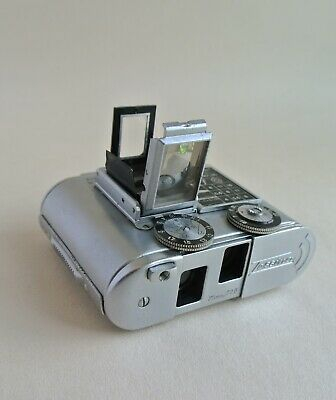 Tessina Automatic subminiature 35mm camera and  box , excellent, rare