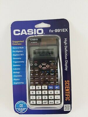 Casio FX-991EX Engineering//Scientific Calculator Black
