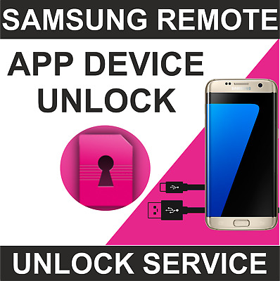 Samsung App Device Unlock Service S7 Edge T-Mobile Verizon Metropcs Remote Code
