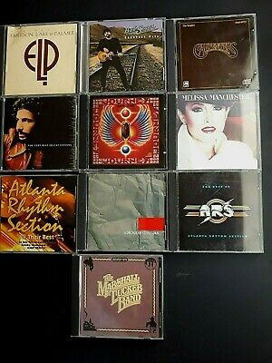 Lot of 10 Greatest Hits, Classic Rock N Roll CD's