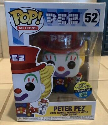 Funko Pop! Ad Icons Peter Pez #52 SDCC 2019 Toy Tokyo Exclusive