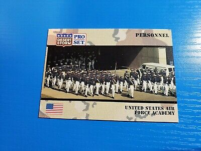 1991 Pro Set Desert Storm #123 United States Air Force Academy Card
