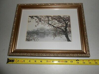 Hand Signed Rod Chase Magnificent Destiny Washington Jefferson Memorial Framed