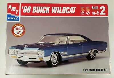Amt Buyer's Choice 1966 Buick Wildcat Model Kit Parts Factory Sealed