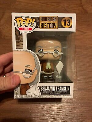 Funko Pop Icons American History Benjamin Franklin 13 mint Authentic