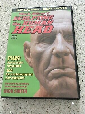 Sculpting the Human Head - DVD tutorial - Mark Alfrey Free Postage