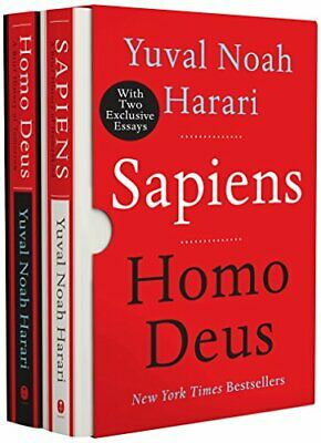 NEW - Sapiens/Homo Deus box set by Harari, Yuval Noah