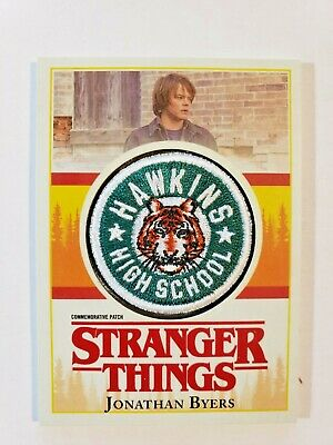 2018 Topps Stranger Things Commemorative Patch Card P-JN Jonathan Byers