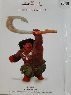 Hallmark Keepsake - Disney Moana - Maui Keepsake Ornament