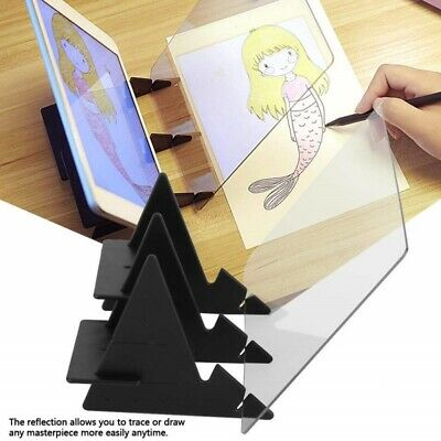 Optical Art Sketch Tracing Board Drawing Projector Copy Paint Light Pad Panel US