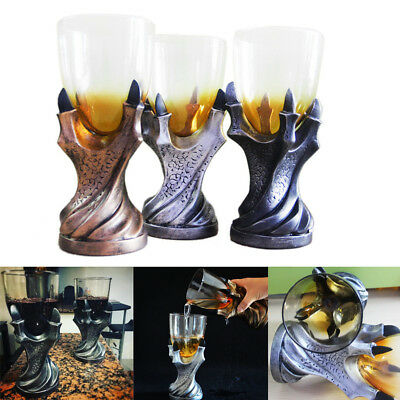 Game of Thrones Dragon Claw Glass Holder Wine Goblet Replica Gothic Beer Cup New
