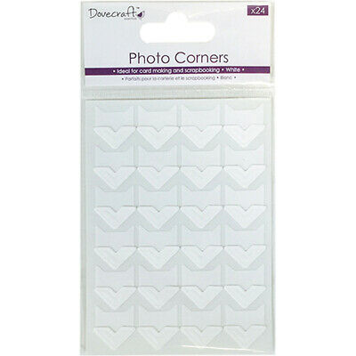 Pack 2500 Photo Corners Invisible Clear Transparent Permanent Acid Free