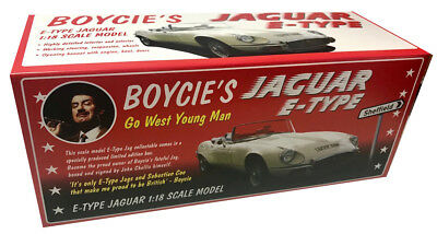 Only Fools and Horses E Type Jaguar 1:18 Scale EMPTY BOX