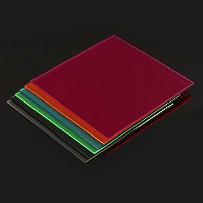 New Colorful Acrylic Sheet Plate Plastic Plexiglass Panel 20*20cm DIY Model