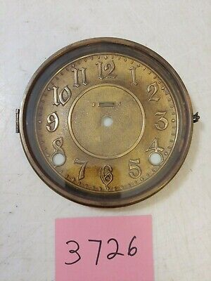 Antique  Ingraham   Mantle Clock  Dial And Bezel With Glass