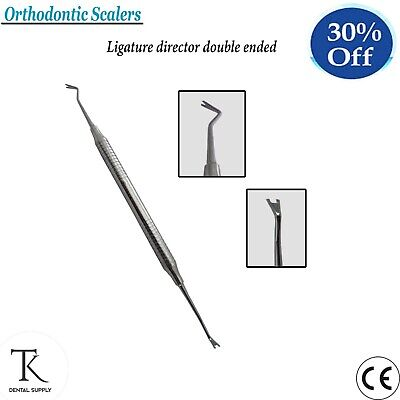 DENTAL HAND INSTRUMENTS ORTHODONTICS Ligature Director Scalers double ended Lab