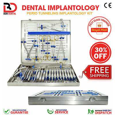 Dental Tunneling Kit Implant Surgery Instruments Bone Grafting Tooth Extraction